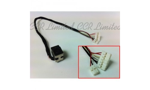 DC Power Jack for HP DV6 with Cable (Twin Connector Version)