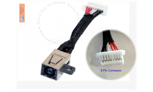 DC Power Jack for Dell Inspiron 13-7347, 13-7348, 13-7352, 13-7359, P57G,13-7000 and more