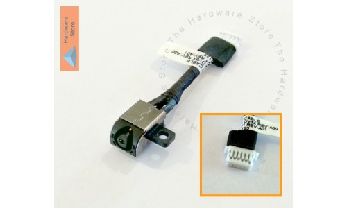 DC Power Jack for Dell Inspiron P24T, P25T and 11 3000, 11 3162,11 3164,11 3168 - LONG VERSION